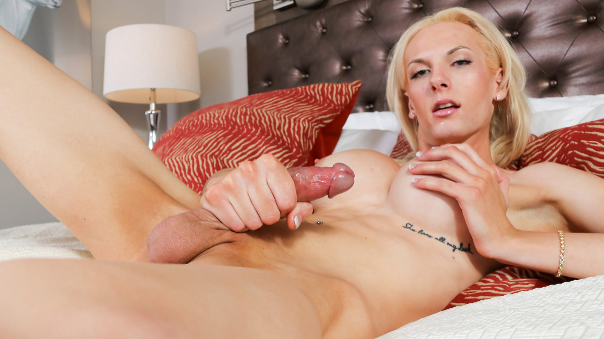 Natalee Skye Strokes And Cums!